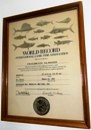 Wold Record Certificate Fishing